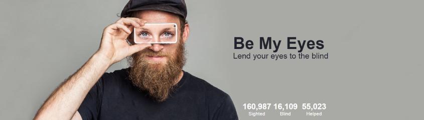 Be My Eyes Banner
