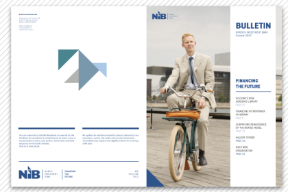 The Nordic Investment Bank - a visual identity development project