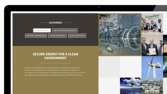 Zayed Future Energy Prize presentation site - Zayed Future Energy Prize presentation site