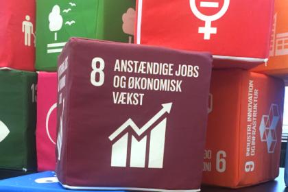 UN City - Copenhagen - SDG Cubes
