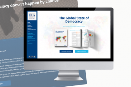 International IDEA – The Global State of Democracy - Online Publication Website