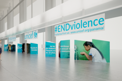 UNICEF Panama - End Violence Exhibition