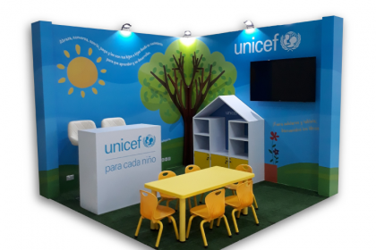UNICEF Panama – Book Fair Stand